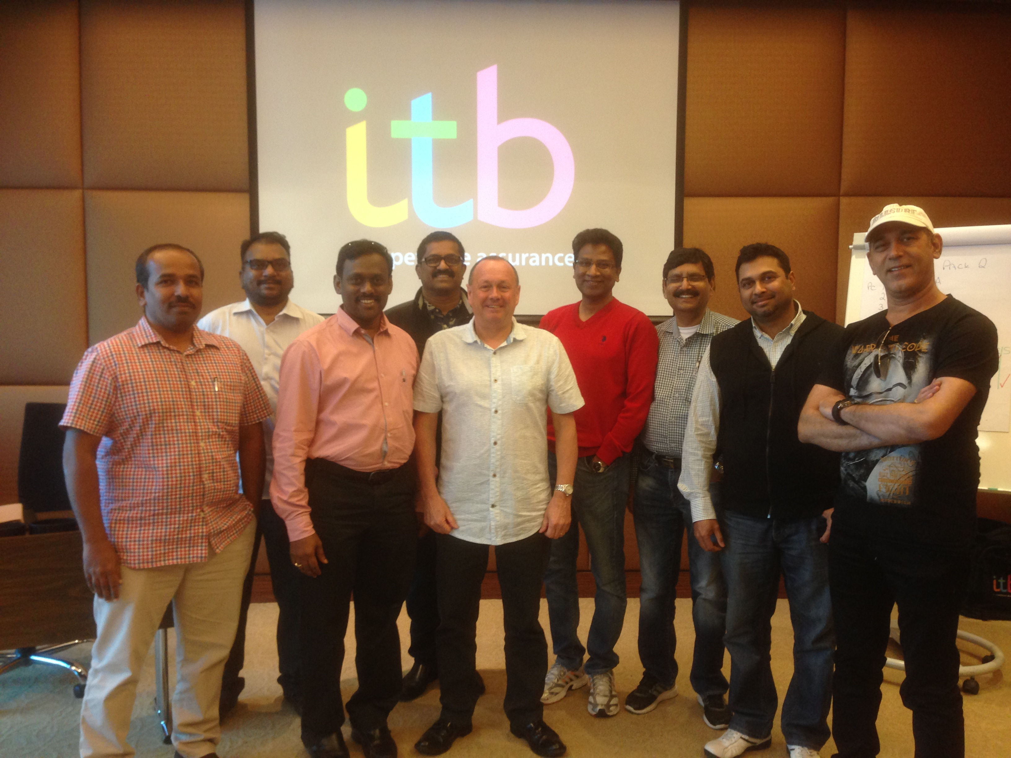 ITB Competence Training in Qatar